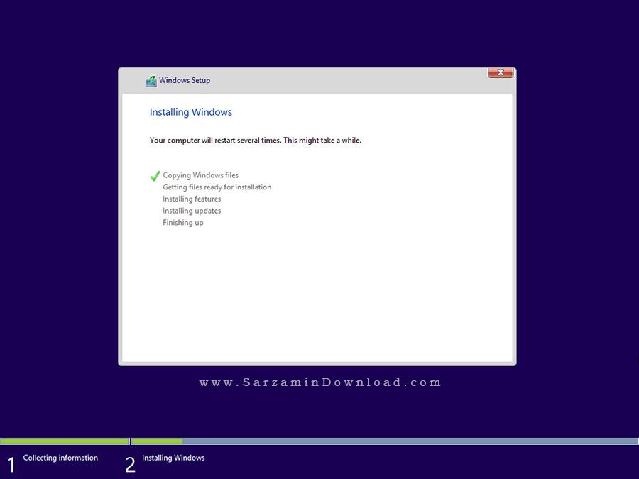 ویندوز 8.1 آپدیت 2016 (نسخه حرفه ای) - Windows 8.1 Professional 2016