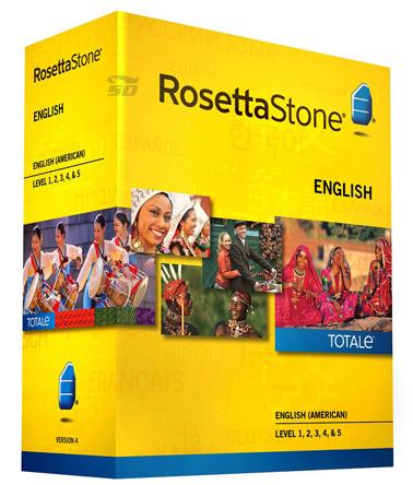 مجموعه کامل آموزش زبان انگلیسی با لهجه امریکایی، رزتا استون - RosettaStone TOTALe 4