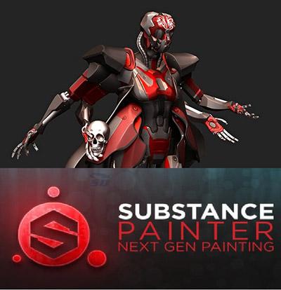 Allegorithmic Substance Painter 1 3 5 734ترسیم نقاشی سه بعدی - 26