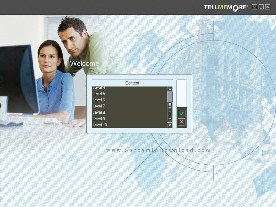 نرم افزار آموزش زبان انگلیسی از مقدماتی تا پیشرفته - Tell Me More English Performance 10.5