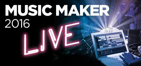 نرم افزار حرفه ای آهنگ سازی - MAGIX Music Maker 2016 Live