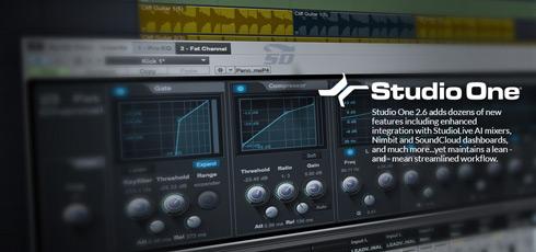 نرم افزار آهنگ سازی استودیو وان، به همراه مجموعه افکت های صوتی - Studio One Pro 2.6.2