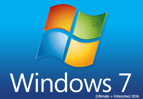 ویندوز 7 سرویس پک 1 آپدیت 2016 - Microsoft Windows 7 SP1 2016 (Ultimate + Enterprise)