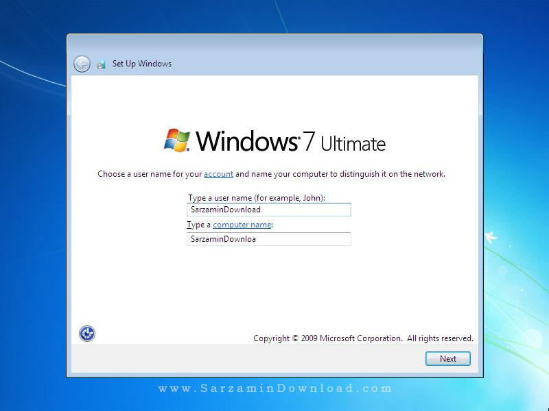 ویندوز 7 سرویس پک 1 آپدیت 2016 - Microsoft Windows 7 SP1 2016 (Ultimate + Enterprise)