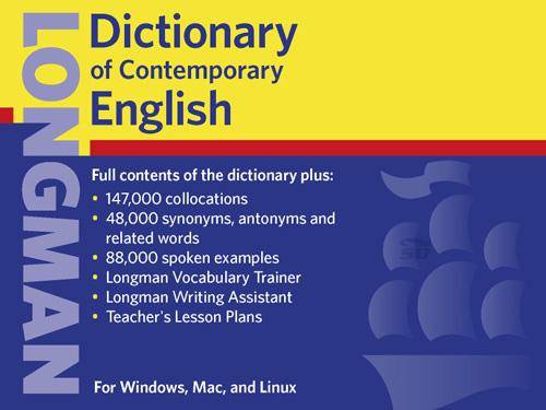 دیکشنری انگلیسی به انگلیسی لانگمن (نگارش پنجم)، با تلفظ - LONGMAN Dictionary Of Contemporary English 5th Edition