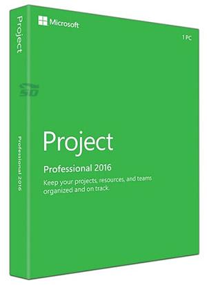 نرم افزار مدیریت پروژه (برای ویندوز) - Microsoft Project Professional 2016 RTM VL Windows