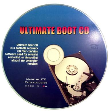 نرم افزار دیسک بوت راه اندازی سیستم (برای ویندوز) - Ultimate Boot CD 5.3.7 Windows