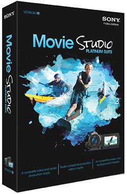 نرم افزار حرفه ای ویرایش فایل های ویدیویی (برای ویندوز) - Magix Vegas Movie Studio 14.0.0.127 Windows