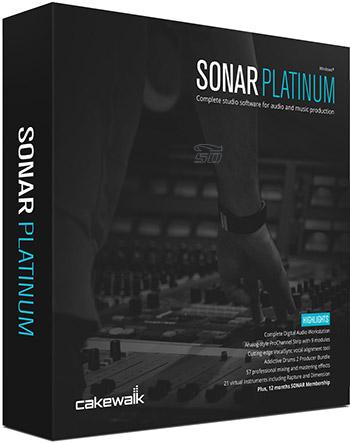 نرم افزار آهنگ سازی سونار (برای ویندوز) - Cakewalk SONAR Platinum 23.10.0.14 Windows