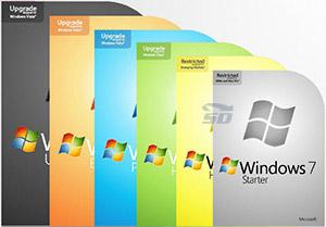 مجموعه تمامی نسخه های ویندوز 7 - Microsoft Windows 7 SP1 AIO October 2017