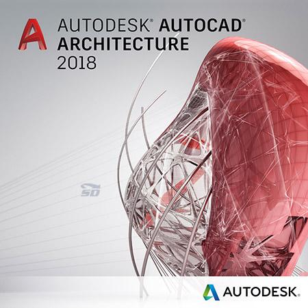 نرم افزار نقشه کشی معماری (برای ویندوز) - AutoCAD Architecture 2018.0.3 Windows