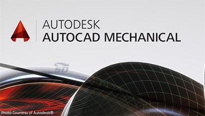 نرم افزار طراحی و ساخت قطعات مکانیکی (برای ویندوز) - AutoCAD Mechanical 2018.0.1 Windows