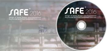 نرم افزار طراحی و آنالیز فونداسیون بتنی (برای ویندوز) - CSI SAFE 2016 v16.0.1 Build 1136 Windows