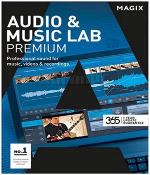 نرم افزار حرفه ای ویرایش آهنگ (برای ویندوز) - MAGIX Audio and Music Lab 2017 Premium 22.2.0.53 Windows