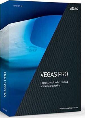 نرم افزار حرفه ای ویرایش فیلم (برای ویندوز) - MAGIX Vegas Pro 15.0.0 Build 261 Windows