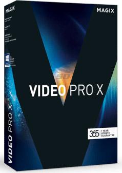 نرم افزار حرفه ای ویرایش فیلم (برای ویندوز) - MAGIX Video Pro X9 v15.0.5.211 Windows