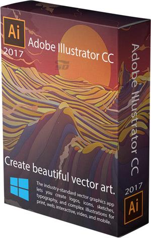 نرم افزار طراحی و ویرایش وکتور، ایلوستریتور (برای ویندوز) - Adobe Illustrator CC 2018 v22.0.1.249 Windows