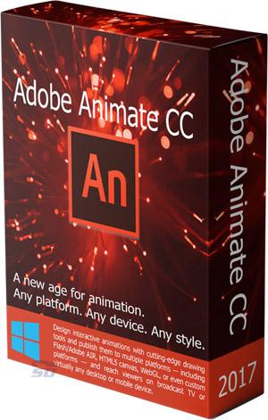 نرم افزار طراحی انیمیشن های فلش (برای ویندوز) - Adobe Animate CC 2018 v18.0.1.115 Windows