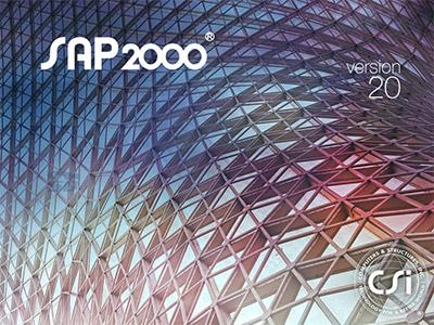 نرم افزار آنالیز و طراحی سازه، سپ 2000 (برای ویندوز) - CSI SAP2000 Ultimate 20.0.0 Build 1384 Windows