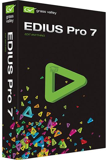 نرم افزار حرفه ای تدوین و میکس فیلم ادیوس (برای ویندوز) - Grass Valley Edius Pro 8.53.2808 Windows