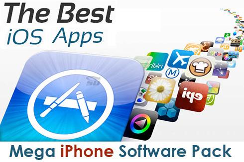 مجموعه عظیم نرم افزار (برای آیفون) - Mega iPhone Game Pack No.01